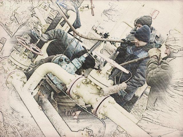 Демонтаж газопровода