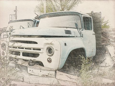 Оценка грузовика для списания