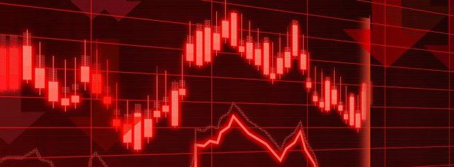 Обвал на рынке акций